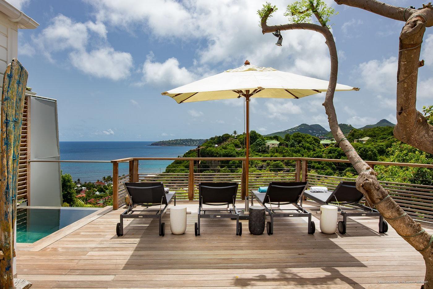 Luxury villa rentals caribbean - St barthelemy - Anse des cayes - Les Cabanes - Image 1/35
