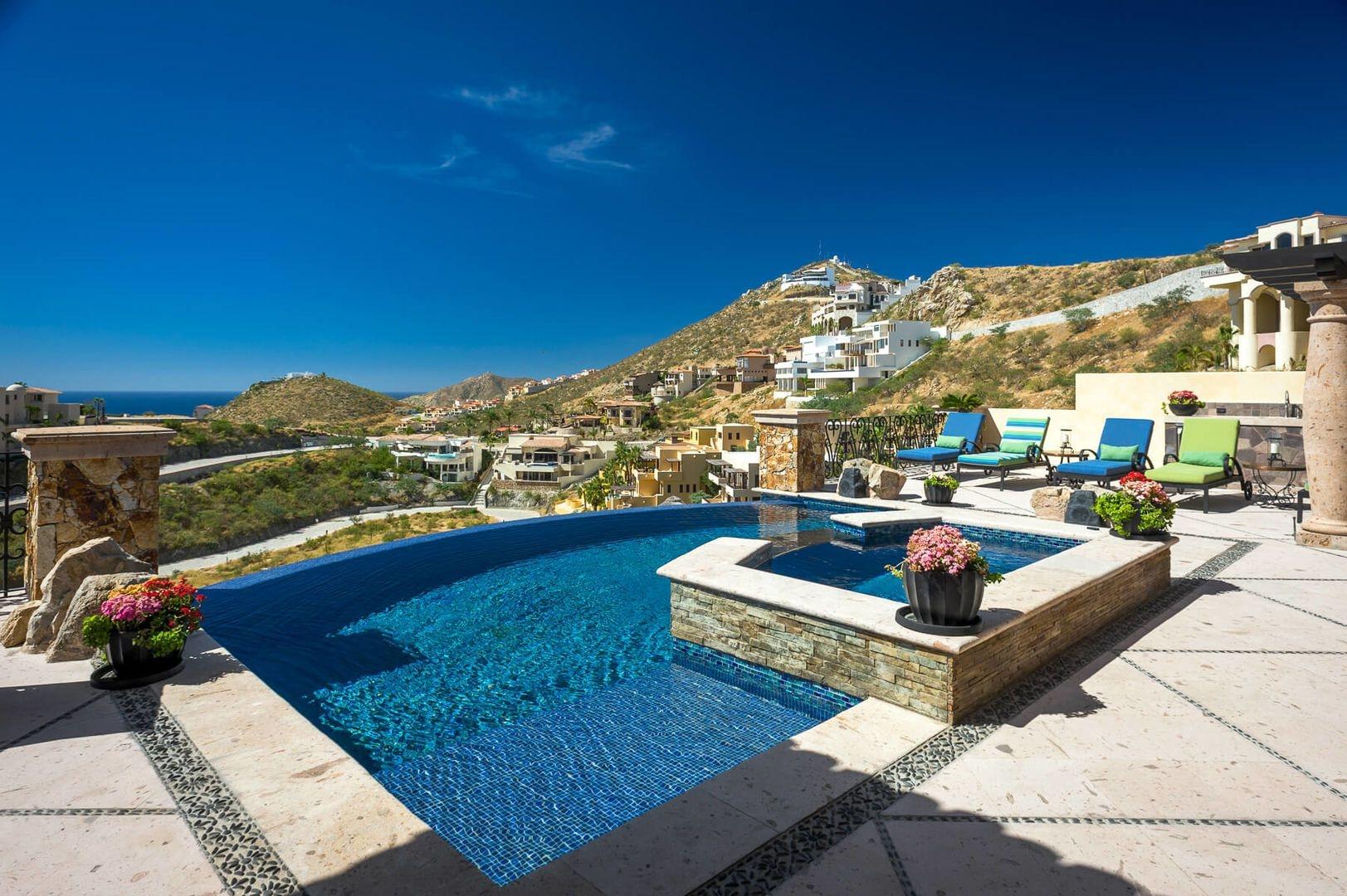Luxury vacation rentals mexico - Los cabos - Cabo - Pedregal - Villa Piedra - Image 1/24