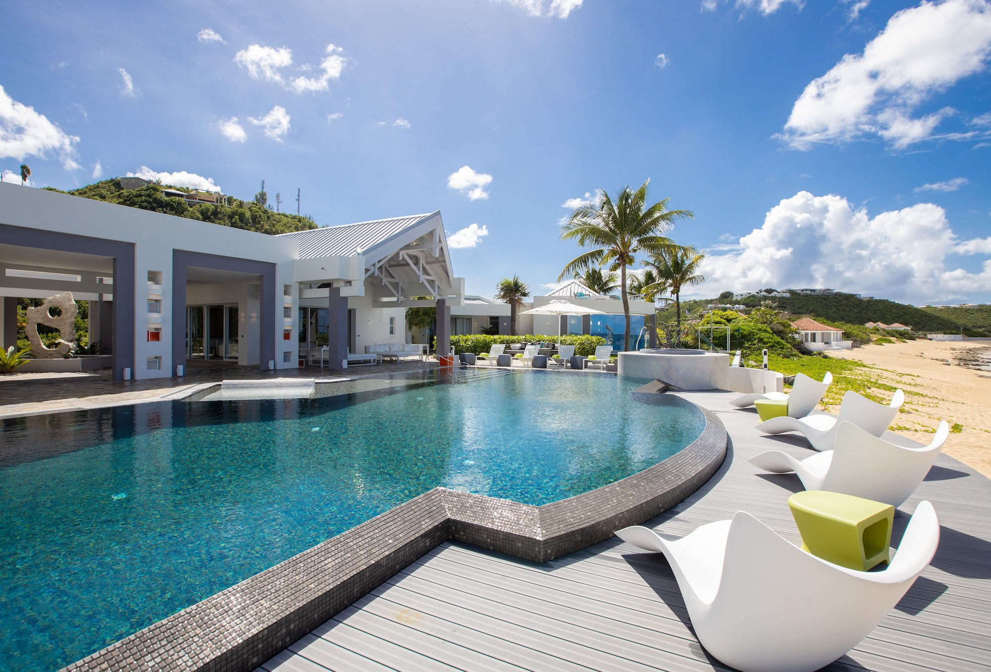 Luxury villa rentals caribbean - St martin - Saint martin french - Les terres basses - Villa Le Rêve - Image 1/69