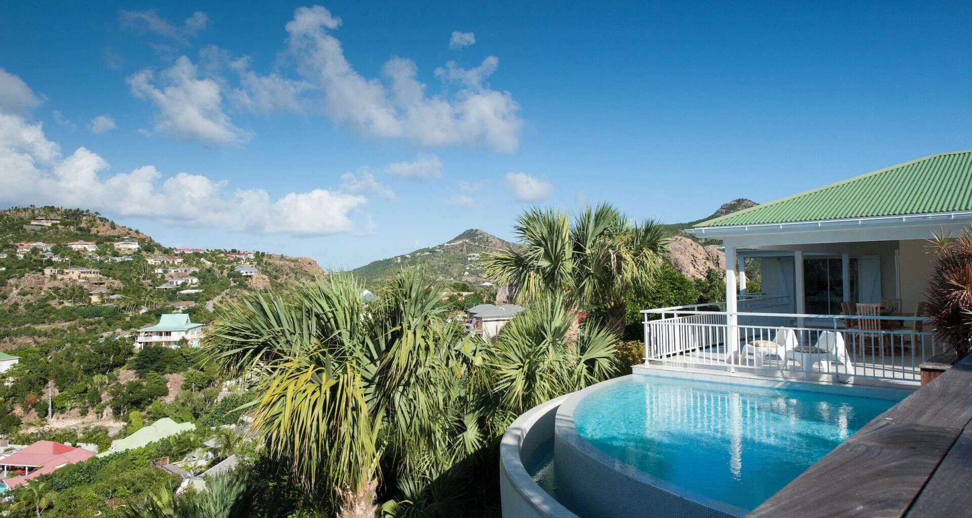 Luxury villa rentals caribbean - St barthelemy - Saint jean - Villa Les Lataniers - Image 1/11