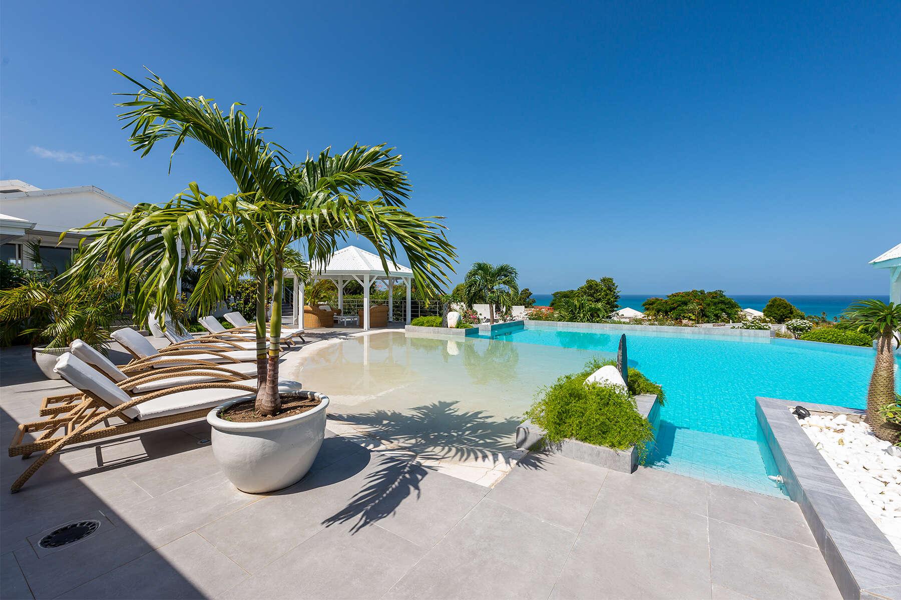 Luxury villa rentals caribbean - St martin - Saint martin french - Les terres basses - Mandalay - Image 1/30