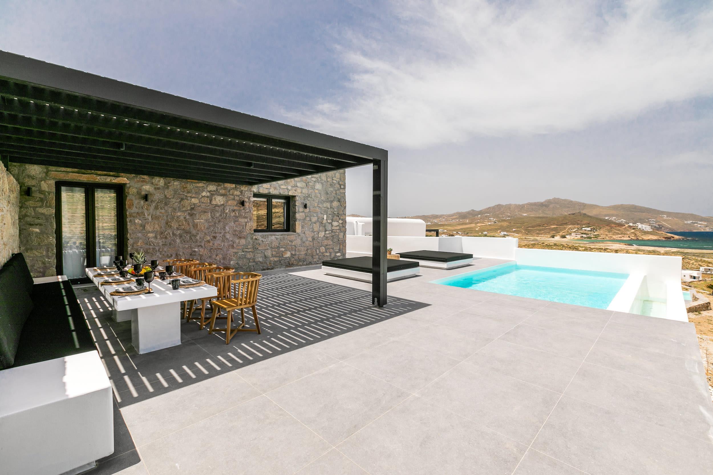 Luxury vacation rentals europe - Greece - Mykonos - Ftelia  - Villa Iremia - Image 1/16