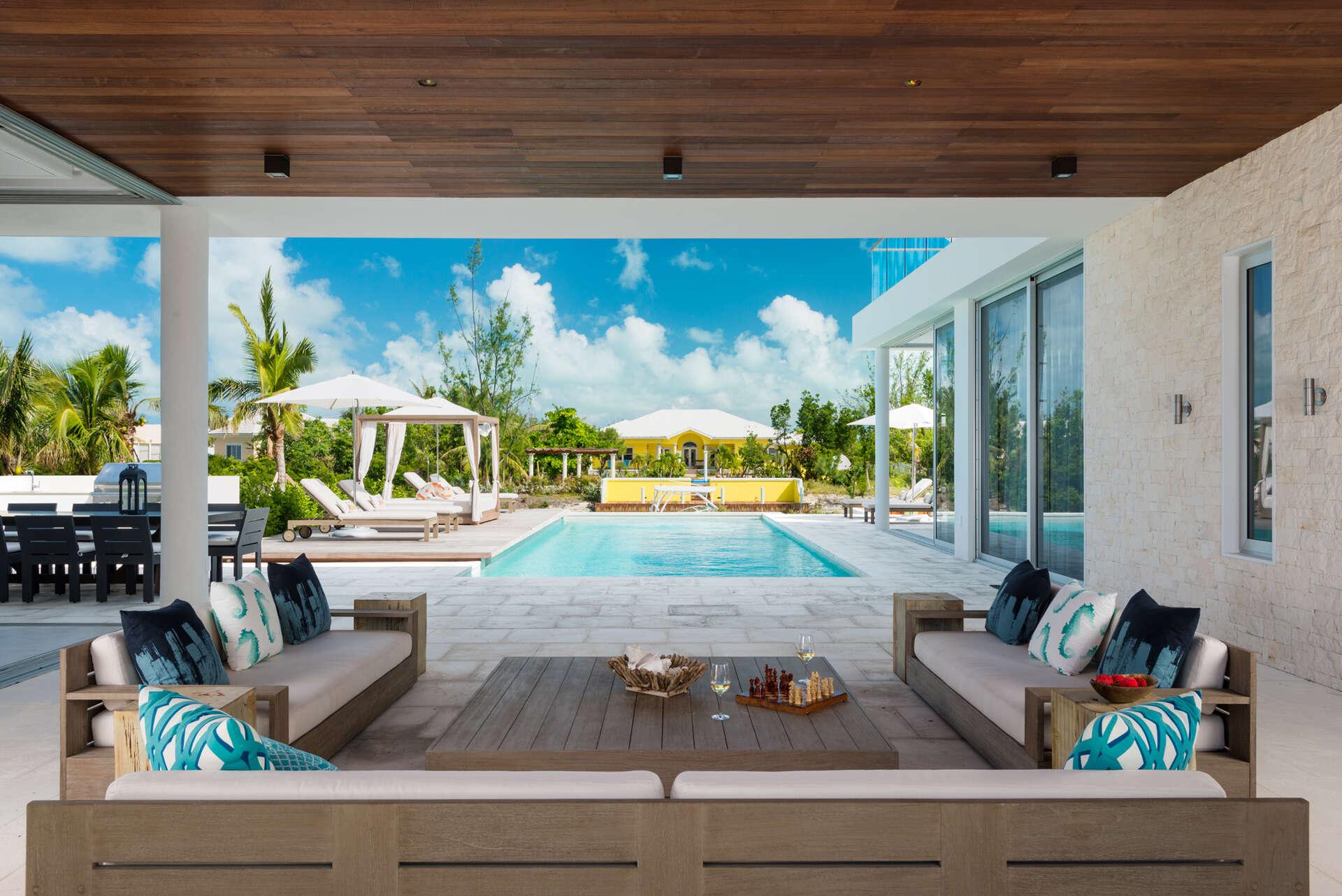 Luxury villa rentals caribbean - Turks and caicos - Providenciales - Leeward - Big Chill - Image 1/20