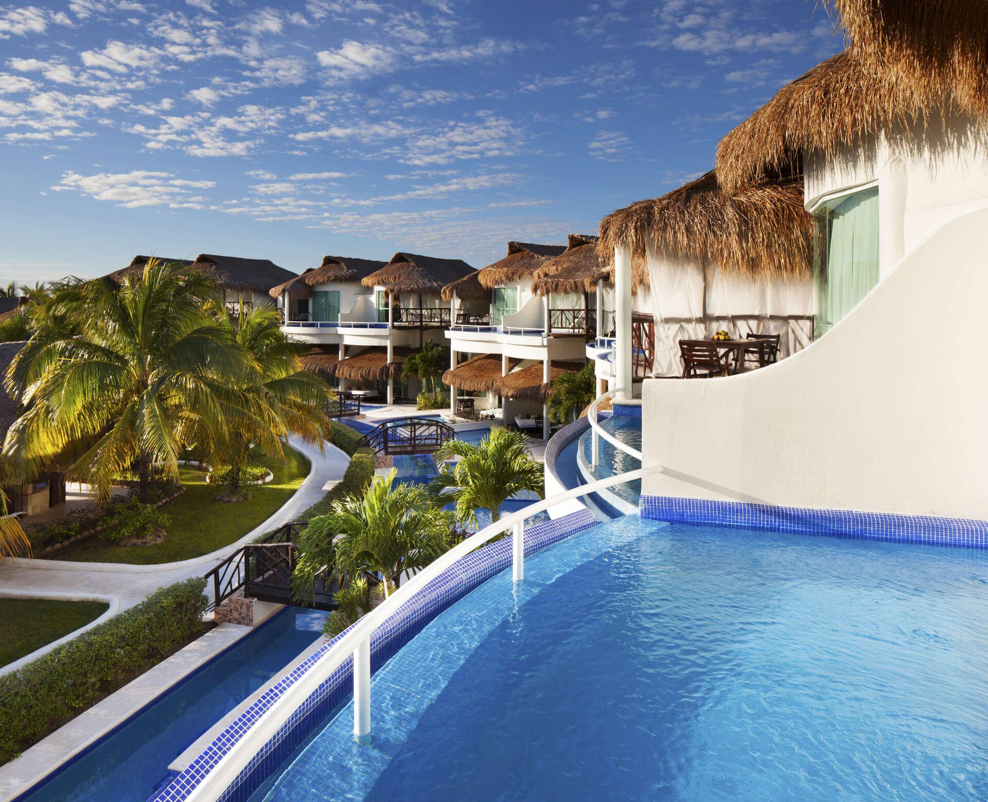 Luxury vacation rentals mexico - Riviera maya - Playa del carmen - El dorado casitas royale - Private Pool Casita Suite - Image 1/8