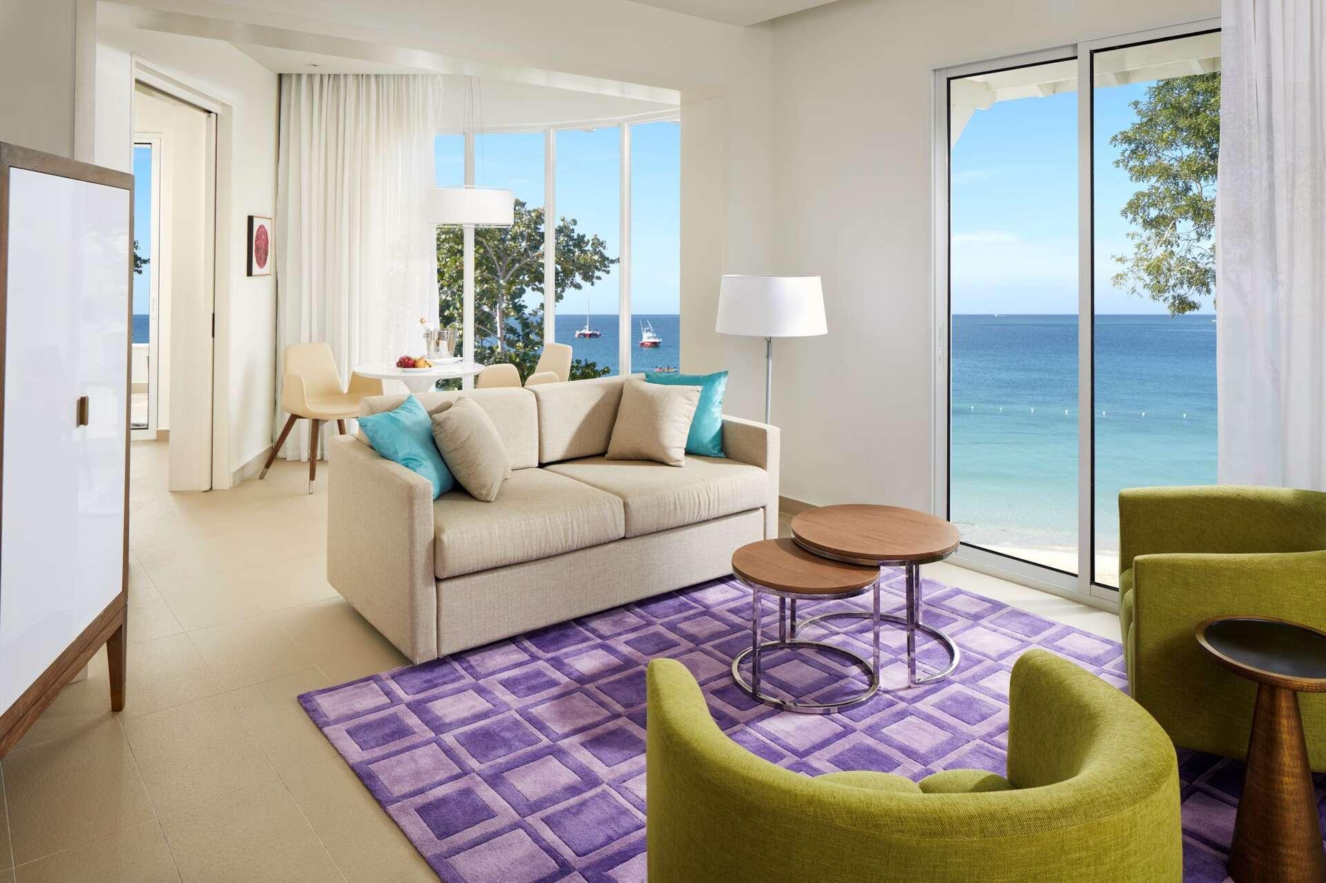 Luxury villa rentals caribbean - Jamaica - Negril - Azul beach resort negril - Presidential Swim-Up Studio - Image 1/13