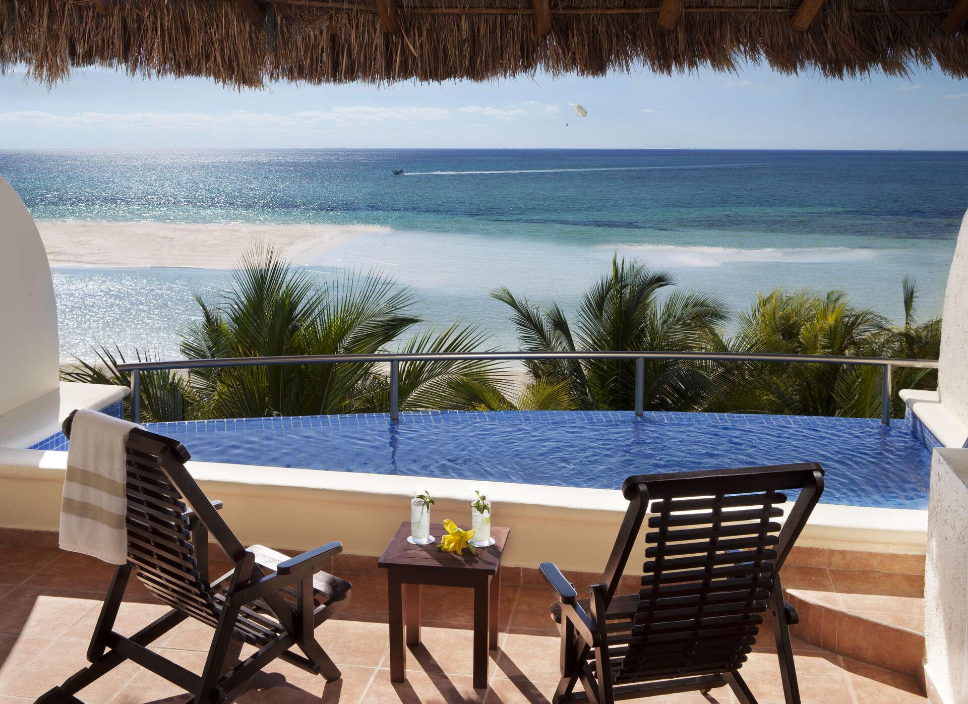 Luxury vacation rentals mexico - Riviera maya - Playa del carmen - El dorado maroma spa resort - Private Pool Suite - Image 1/15