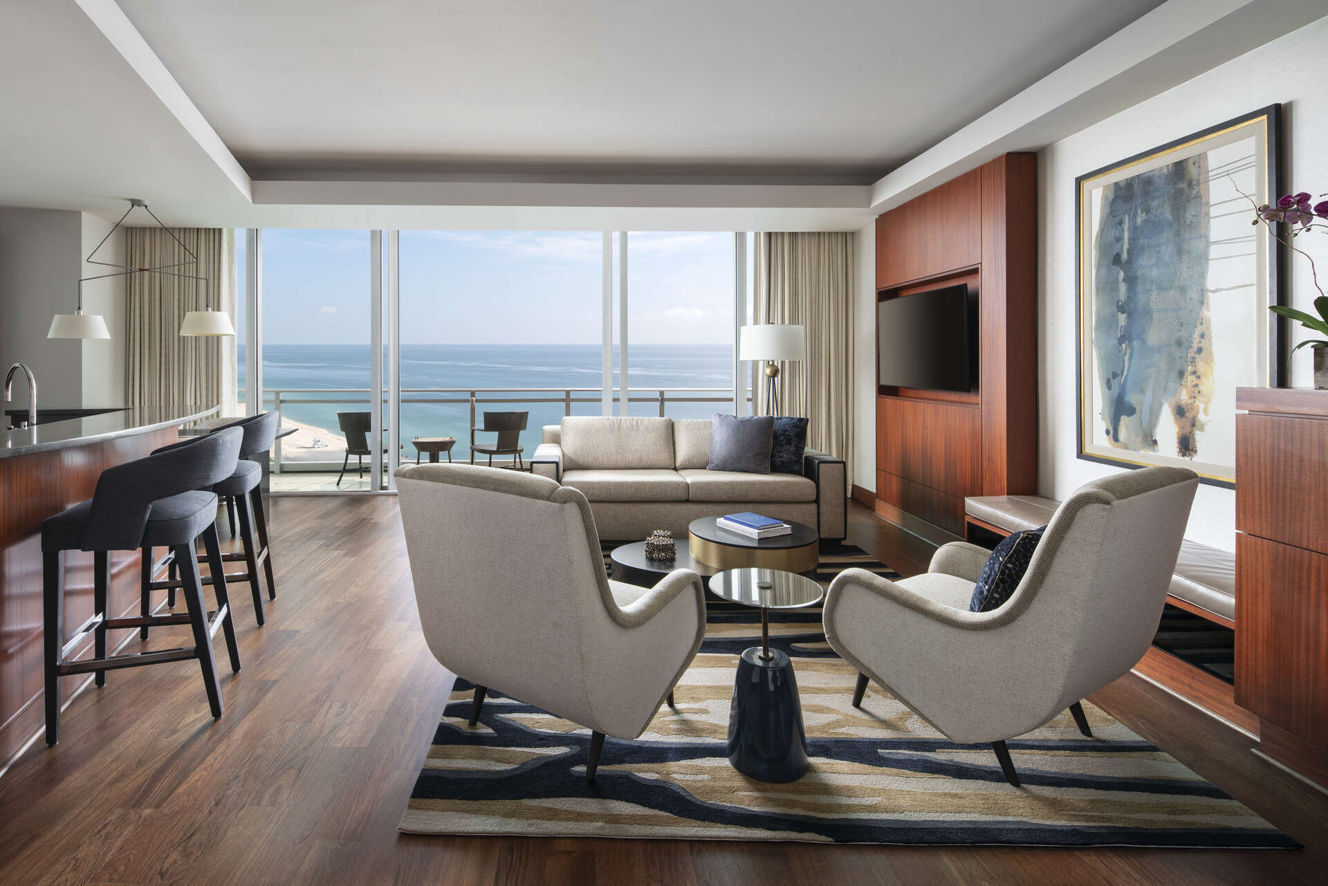 Luxury vacation rentals usa - Florida - Miami beach - Ritz carlton bal harbour - Bal Harbour Suite - Image 1/14