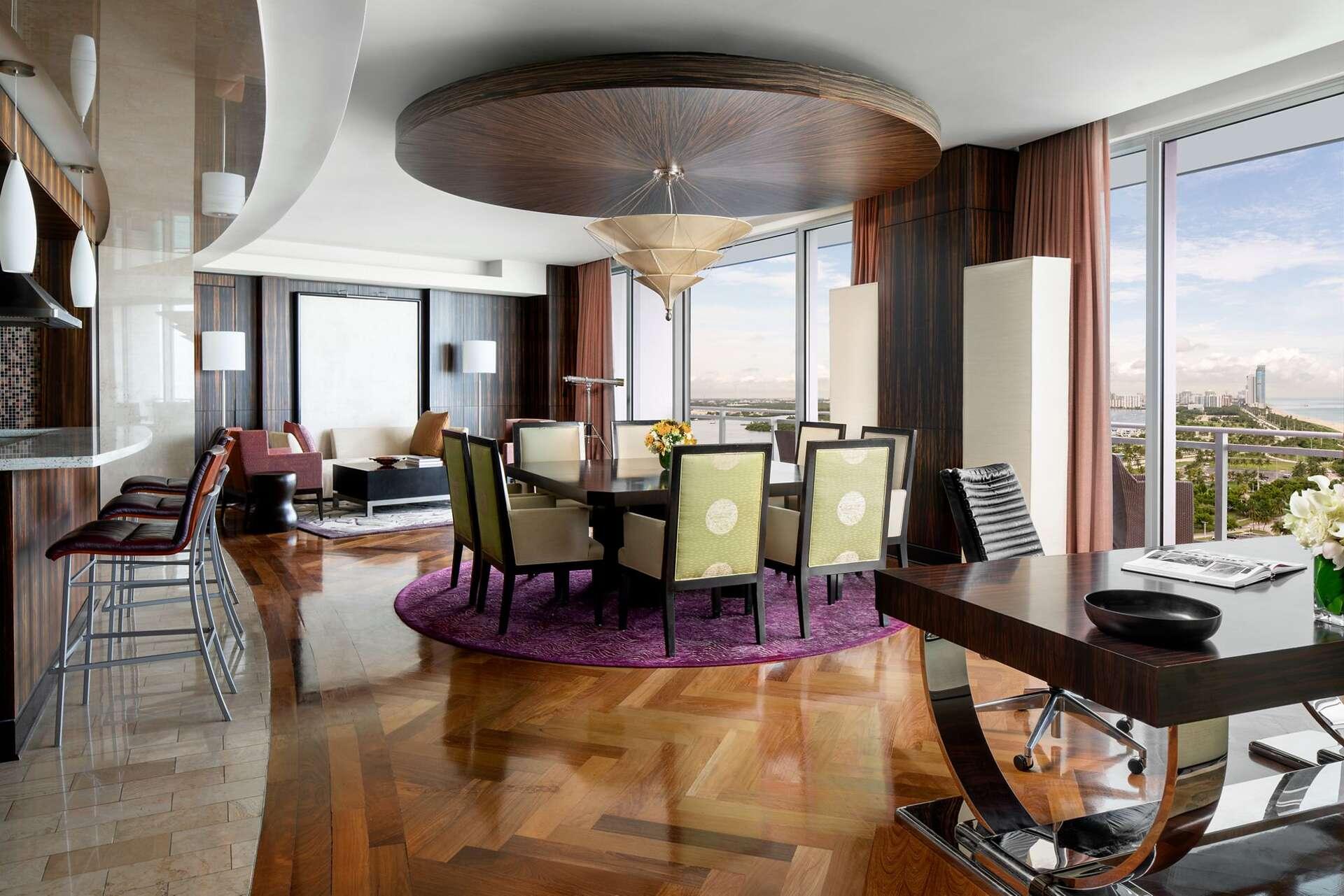 Luxury vacation rentals usa - Florida - Miami beach - Ritz carlton bal harbour - The Presidential Suite - Image 1/15