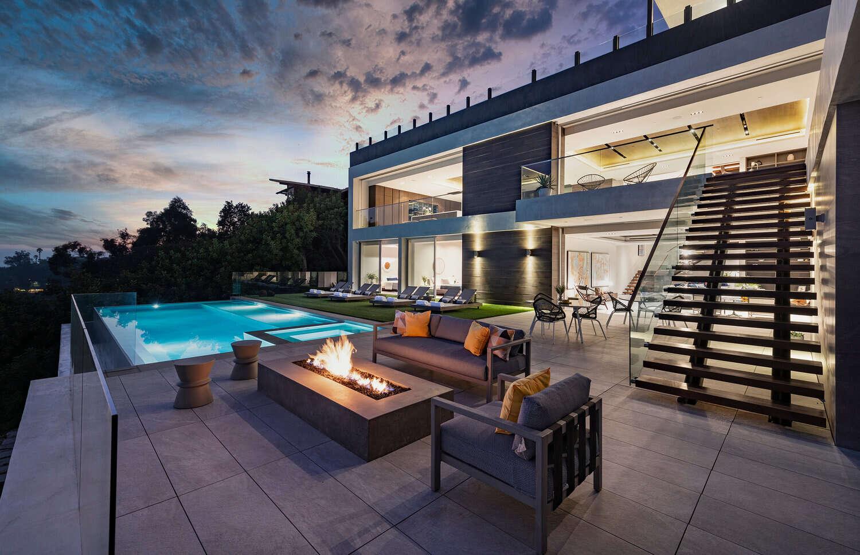 Luxury vacation rentals usa - California - Los angeles california - Hollywood hills ca - Los Tilos Mansion - Image 1/40