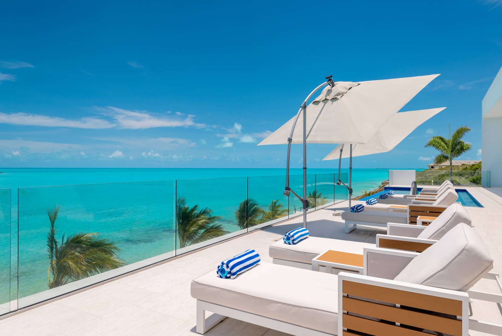 Luxury villa rentals caribbean - Turks and caicos - Providenciales - Turtle tail - Blue Vista - Image 1/31