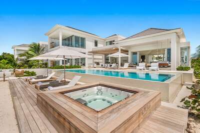 Five Bedroom Beachfront