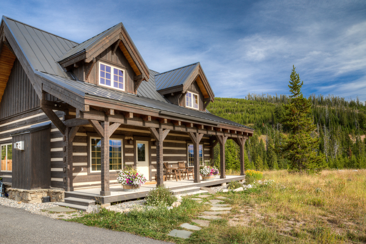 Luxury vacation rentals usa - Montana - Big sky - Camp Arrowhead Cabin - Image 1/37