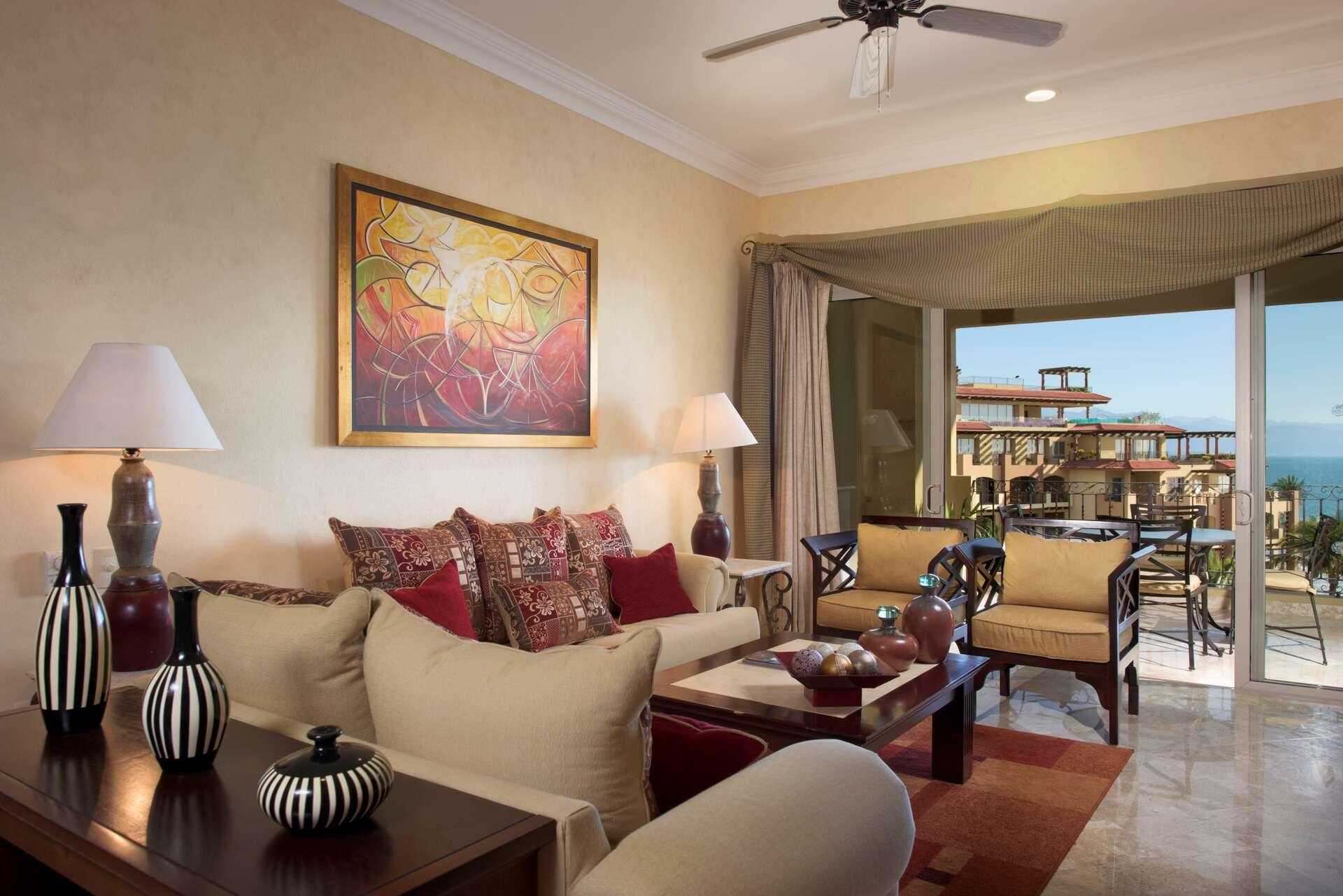 Luxury vacation rentals mexico - Nuevo vallarta - Villa la estancia riviera nayarit - Three Bedroom Suite - Image 1/28
