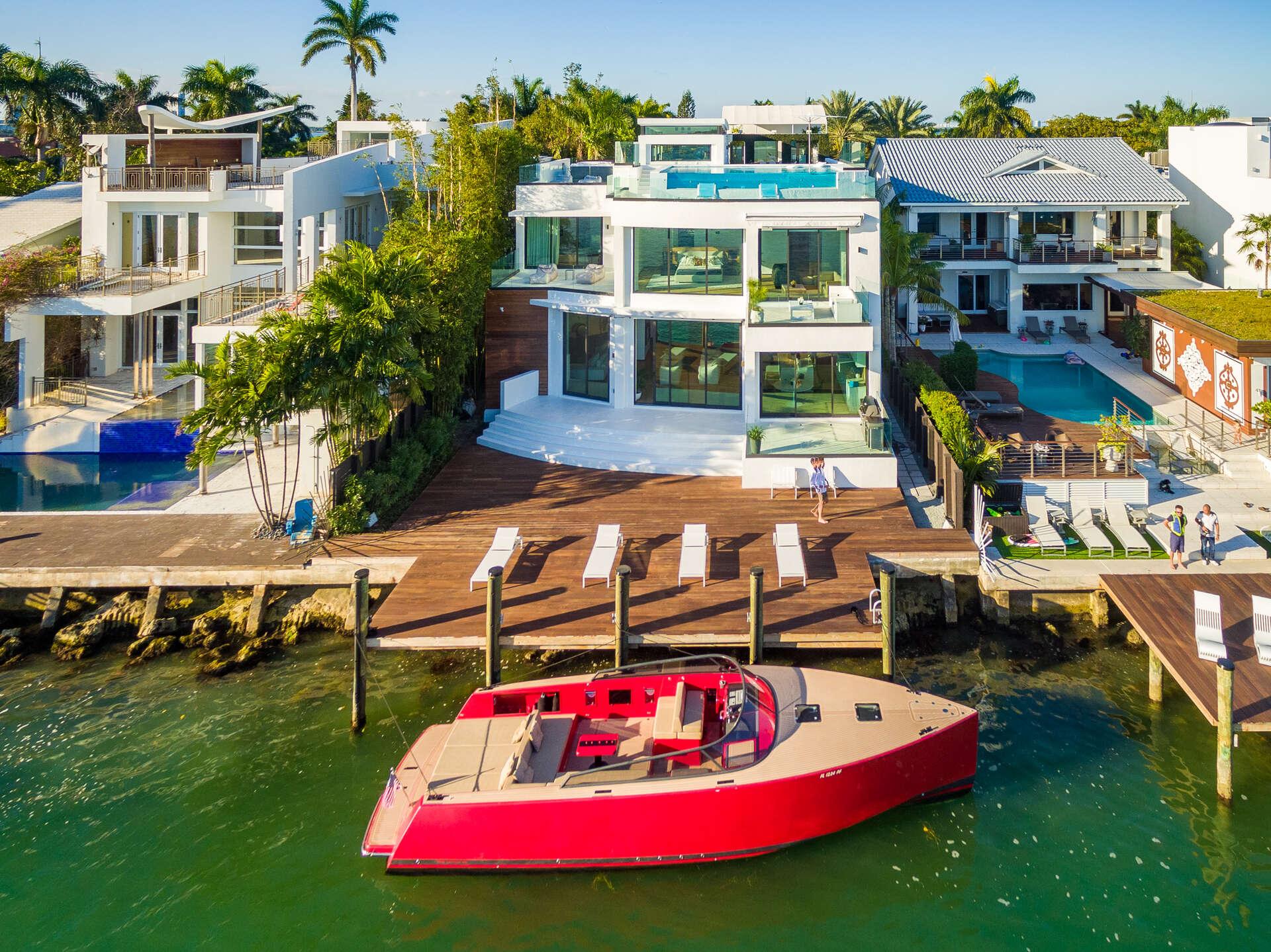 Luxury vacation rentals usa - Florida - Miami beach - Venetian islands - Villa Savant - Image 1/40