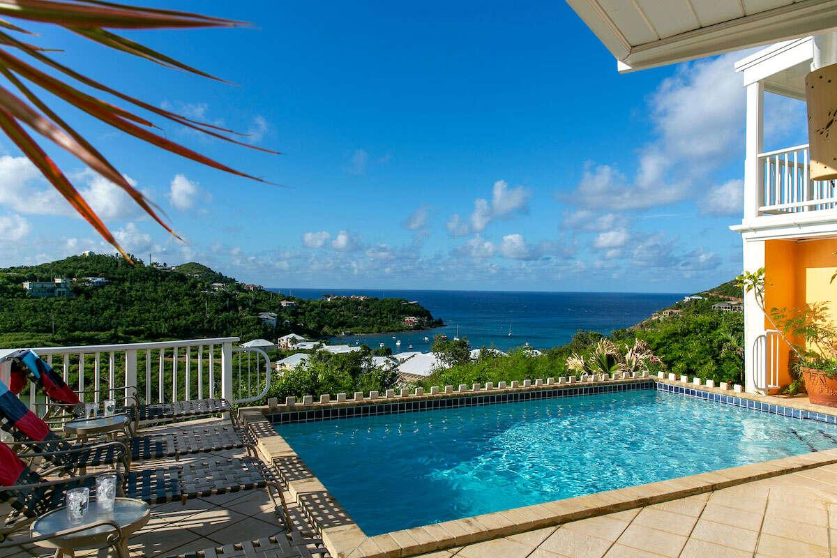 Luxury villa rentals caribbean - Usvi - St john - Chocolate hole - Crystal Seaview - Image 1/24