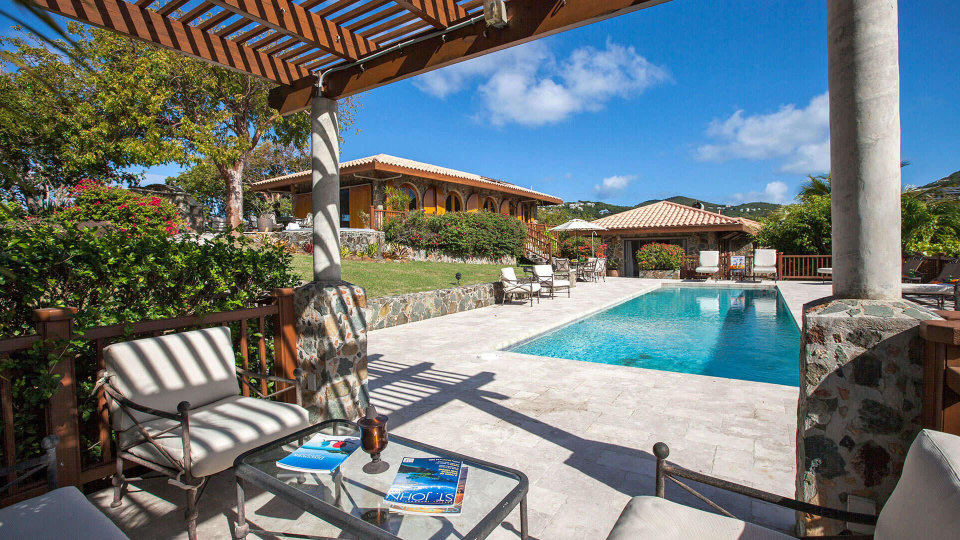 Luxury villa rentals caribbean - Usvi - St john - Great cruzbay - Estate Rose - Image 1/25