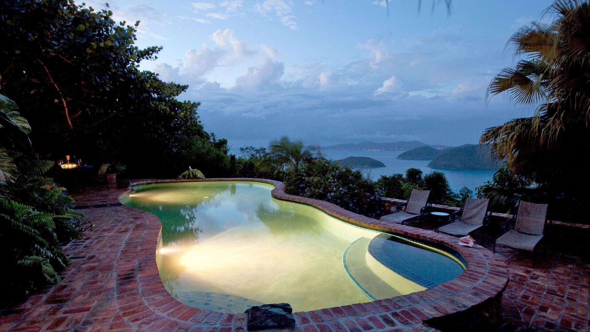 Luxury villa rentals caribbean - Usvi - St john - Catherineberg - Hakuna Matata - Image 1/16