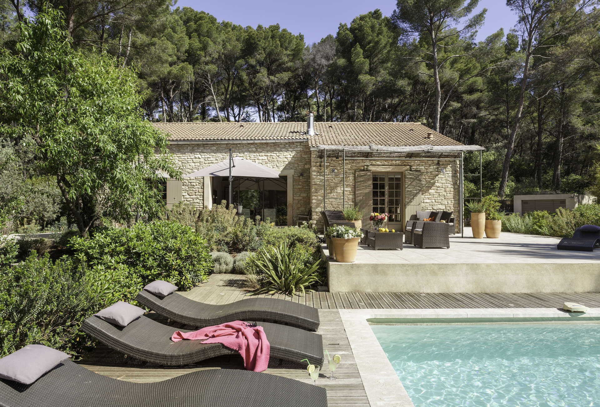 Luxury vacation rentals europe - France - Provence ih - Pernes lesfontaines - Le Clos a l'Amandier - Image 1/29
