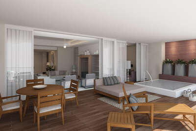 3 Bedroom Spa Suite | Grand Luxxe