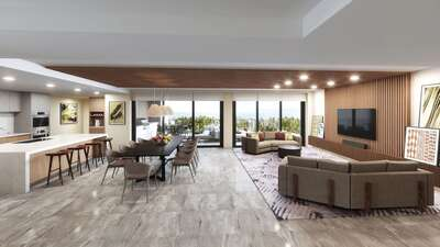 Three Bedroom Ocean View Villa   Penthouse
