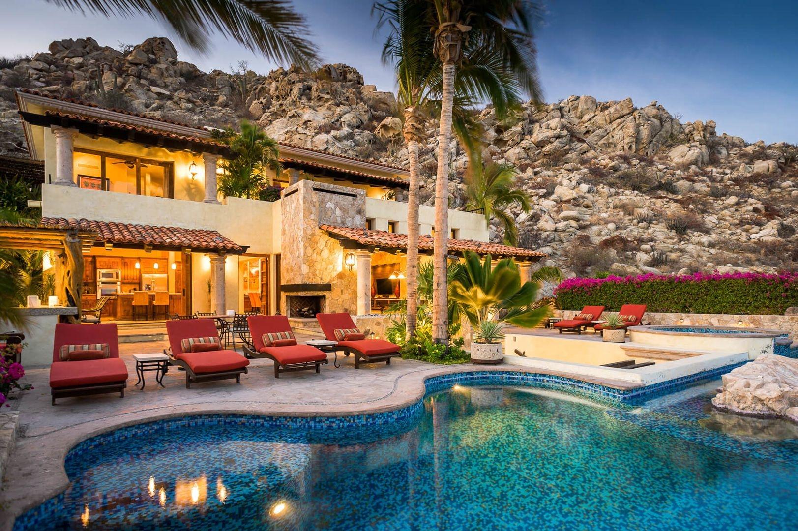 Luxury vacation rentals mexico - Los cabos - Pedr egal - Villa Andaluza - Image 1/25