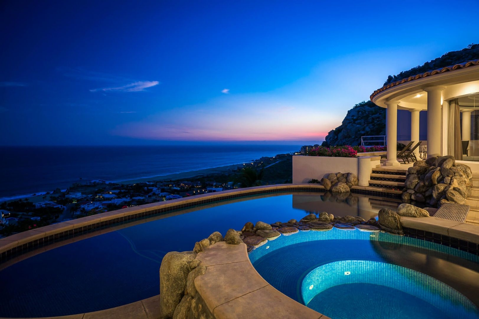 Luxury vacation rentals mexico - Los cabos - Cabo - Pedregal - Villa Thunderbird - Image 1/25