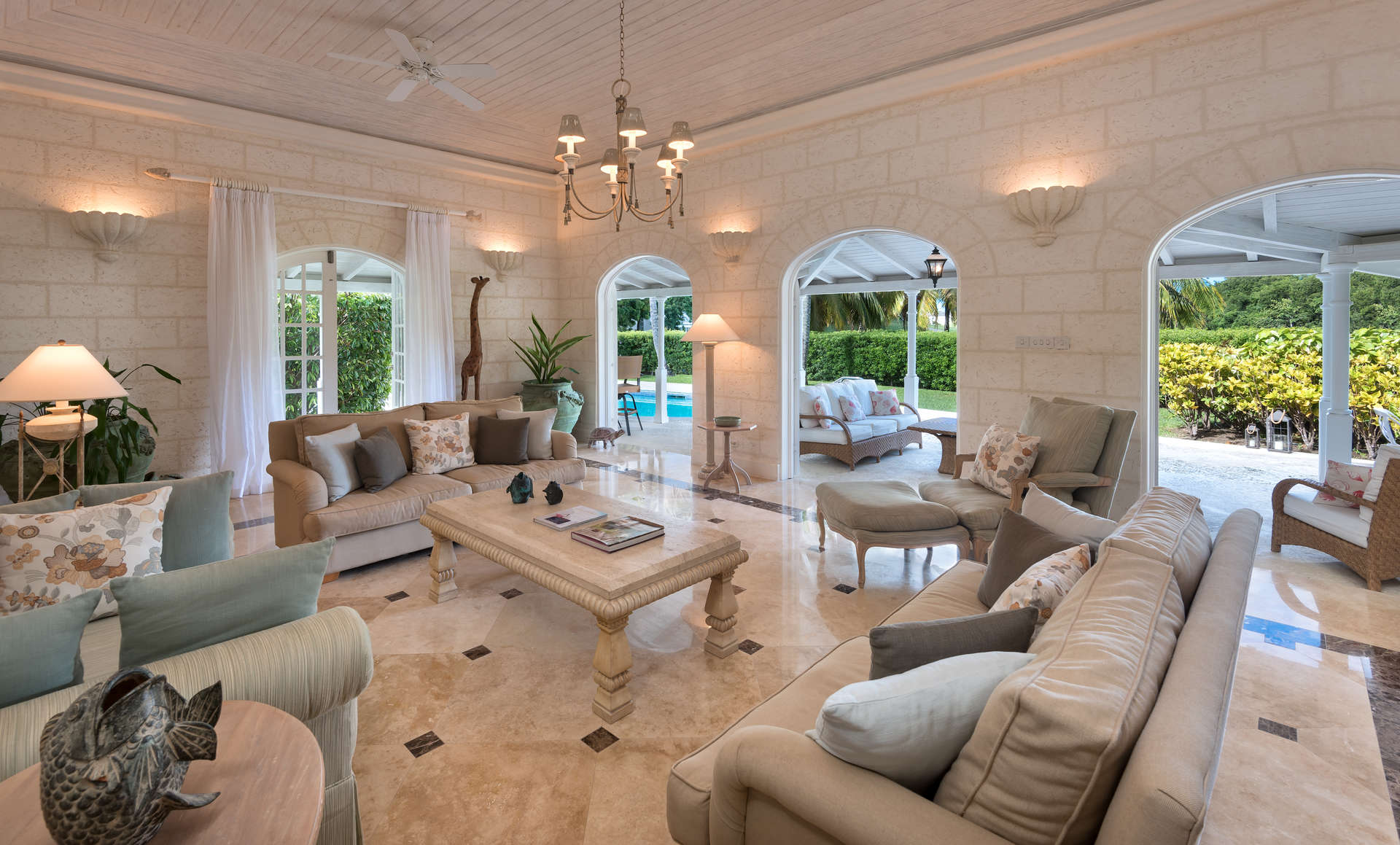 Luxury villa rentals caribbean - Barbados - St james - Royal westmoreland golf resort - Coconut Grove 1 - Image 1/10