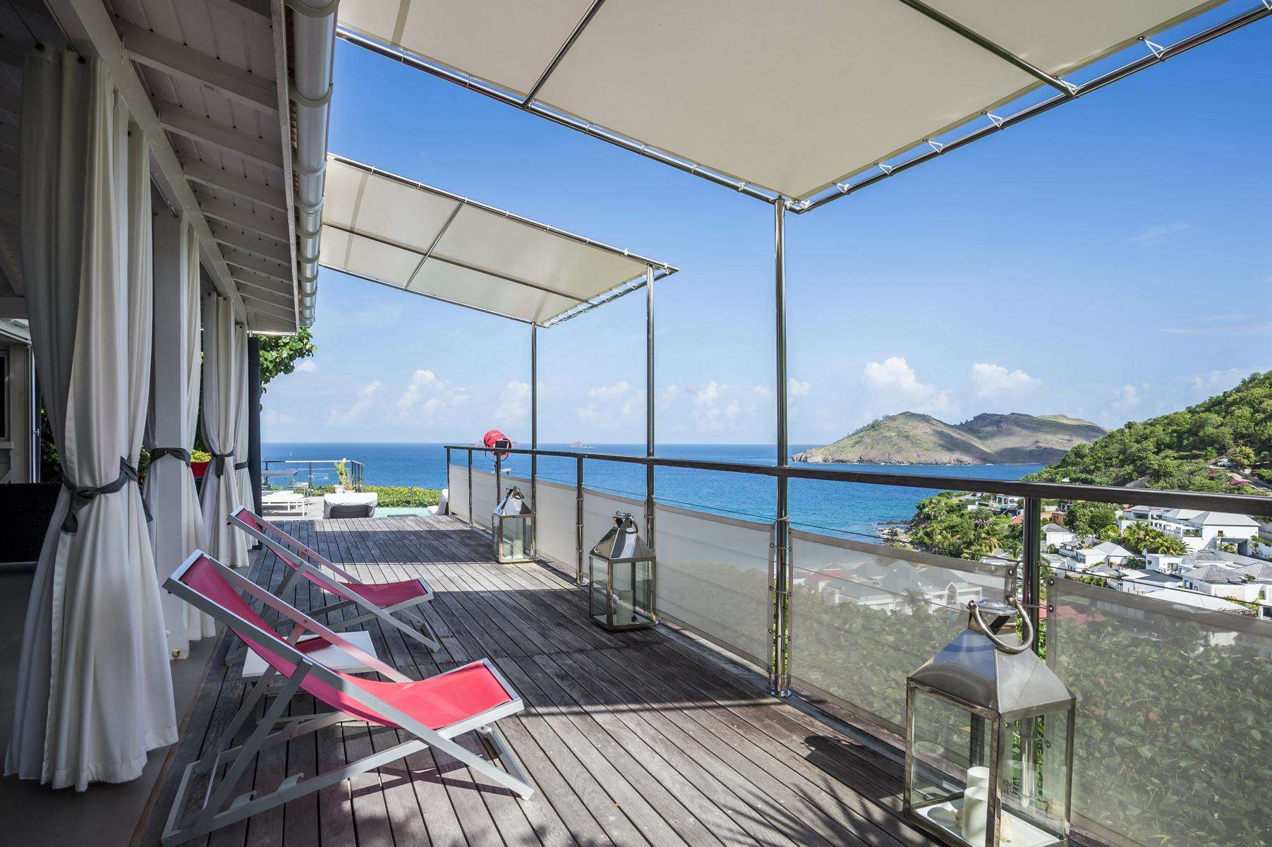 Luxury villa rentals caribbean - St barthelemy - Flamands - Roc Flamands 11 - Image 1/24
