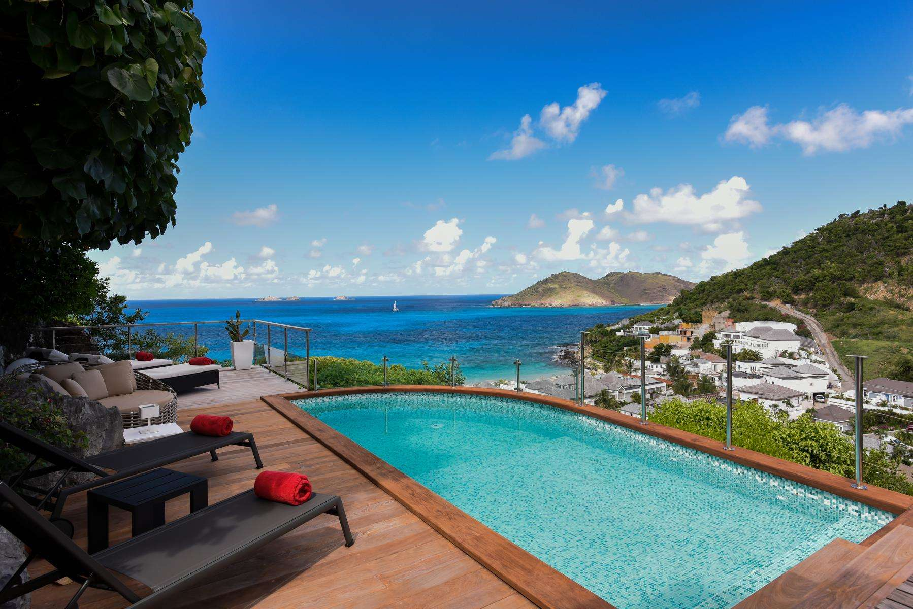 Luxury villa rentals caribbean - St barthelemy - Flamands - Roc Flamands 11 - Image 1/16