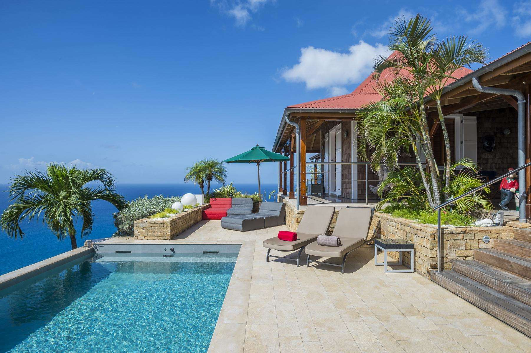 Luxury villa rentals caribbean - St barthelemy - Colombier - No location 4 - Hurakan - Image 1/27