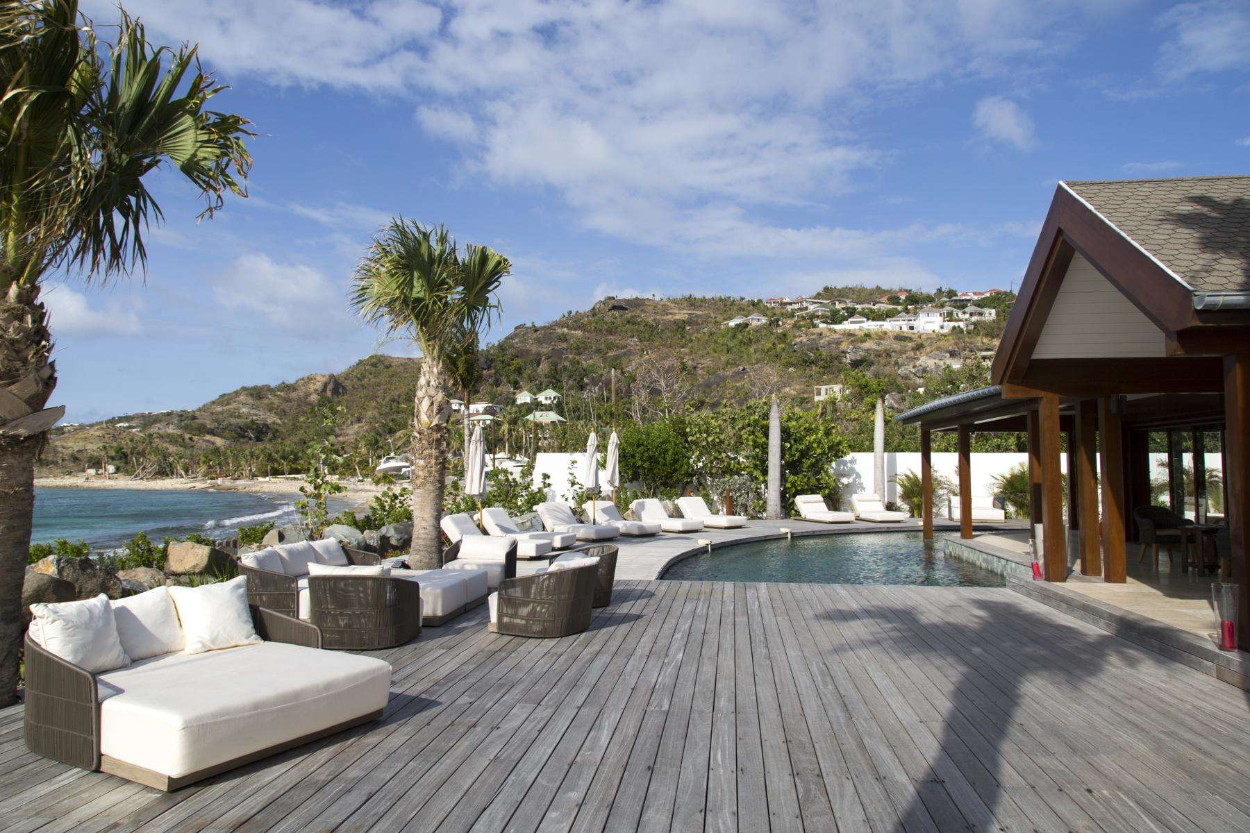 Luxury villa rentals caribbean - St barthelemy - Lorient - la Plage - Image 1/32