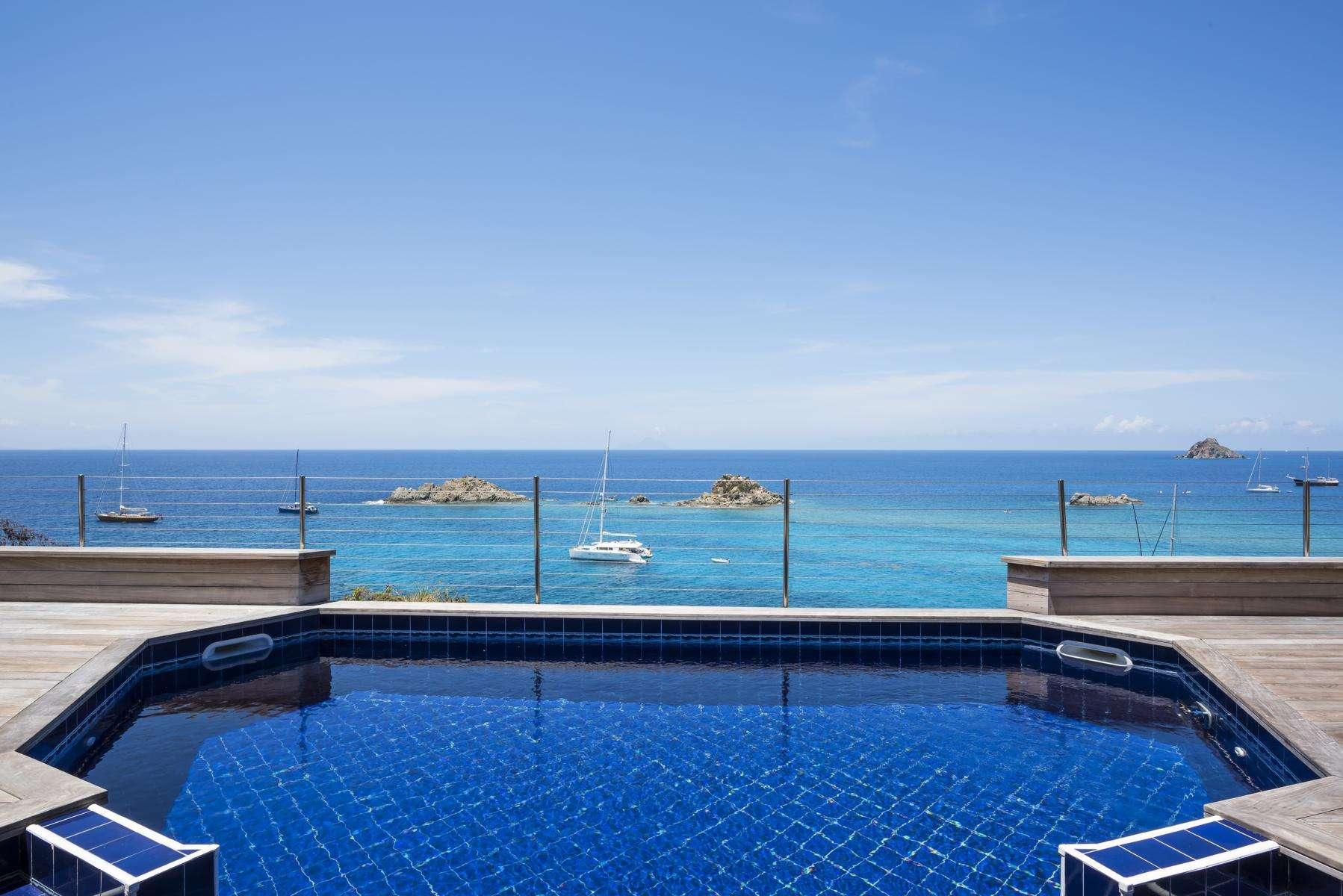 Luxury villa rentals caribbean - St barthelemy - Gustavia - Sky Vista - Image 1/25