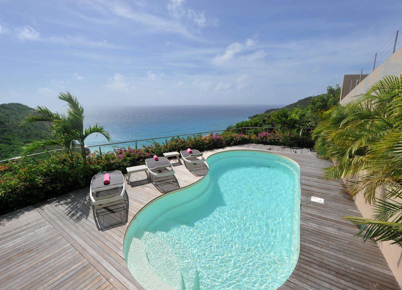 Luxury villa rentals caribbean - St barthelemy - Gouverneur - Gouverneur Cliff - Image 1/17