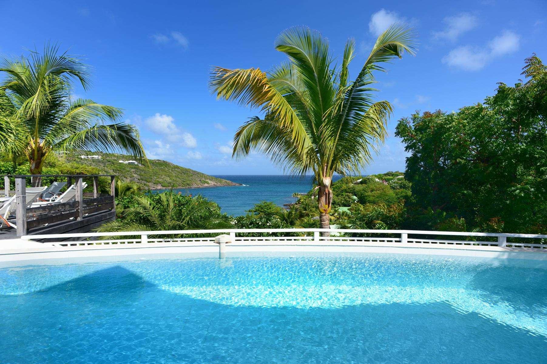 Luxury villa rentals caribbean - St barthelemy - Marigot - Escapade - Image 1/29