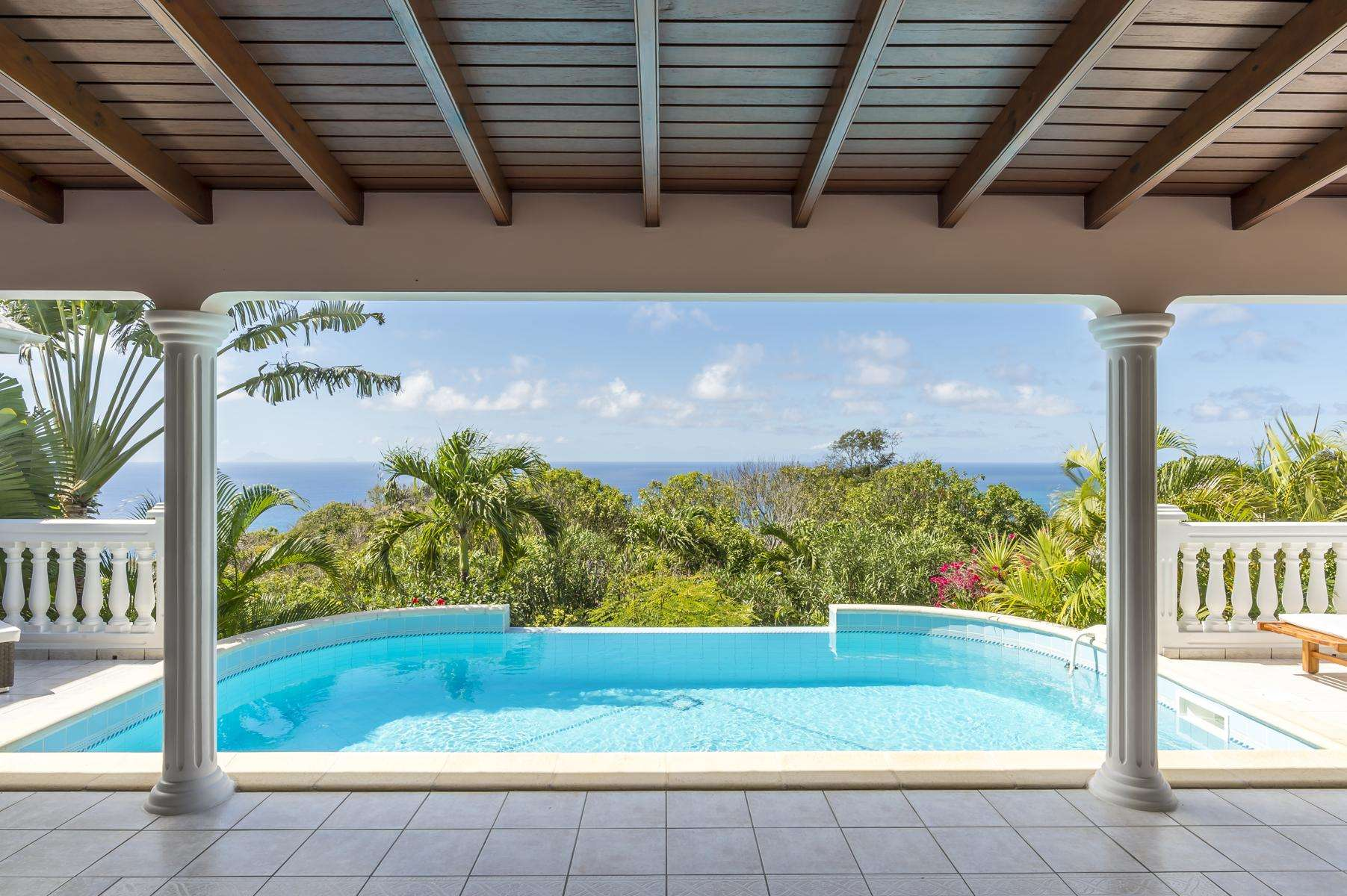 Luxury villa rentals caribbean - St barthelemy - Colombier - Sunrock - Image 1/16