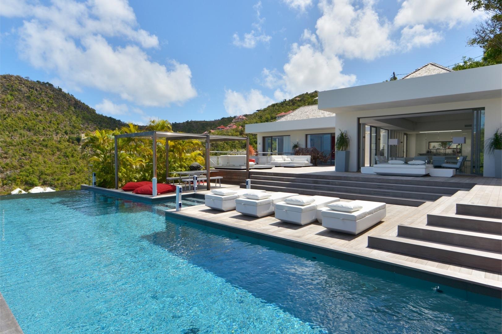 Luxury villa rentals caribbean - St barthelemy - Flamands - No location 4 - Eternity - Image 1/48