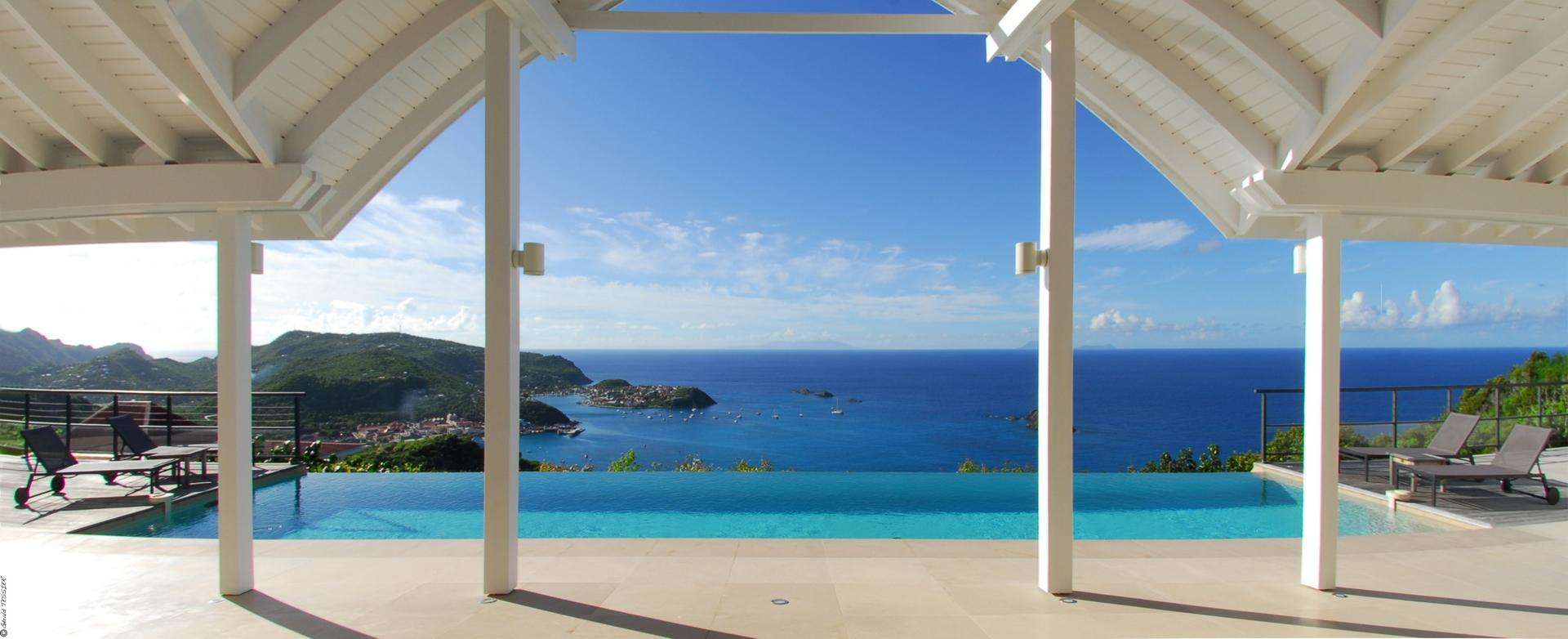 Luxury villa rentals caribbean - St barthelemy - Colombier - The View - Image 1/20