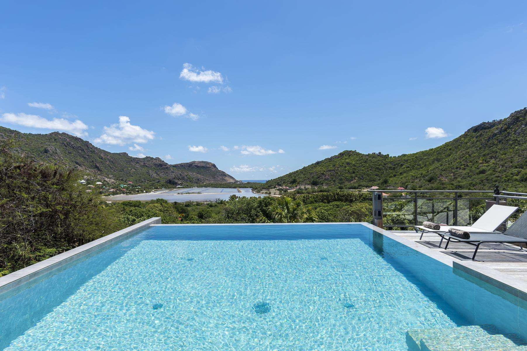 Luxury villa rentals caribbean - St barthelemy - Shell beach - Harry - Image 1/18
