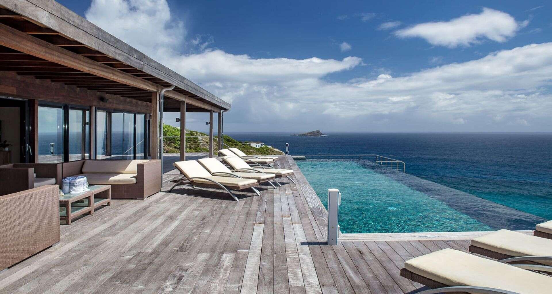 Luxury villa rentals caribbean - St barthelemy - Pointe milou - No location 4 - Seascape - Image 1/12