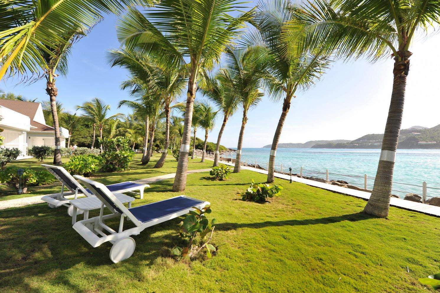 Luxury villa rentals caribbean - St barthelemy - Saint jean - Val André - Image 1/22