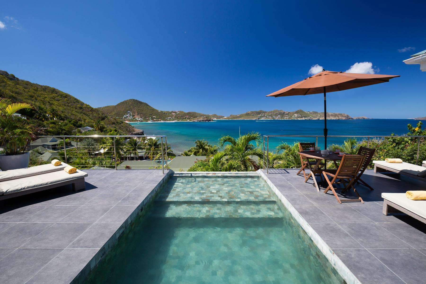 Luxury villa rentals caribbean - St barthelemy - Pointe milou - No location 4 - Mirande - Image 1/29