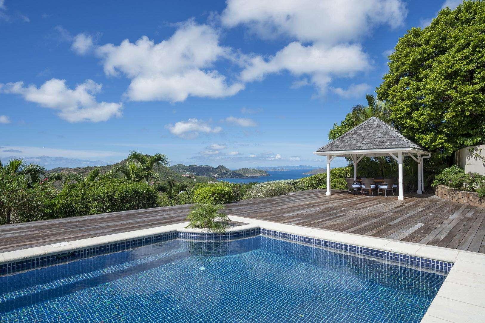 Luxury villa rentals caribbean - St barthelemy - Petite saline - la Plantation - Image 1/34