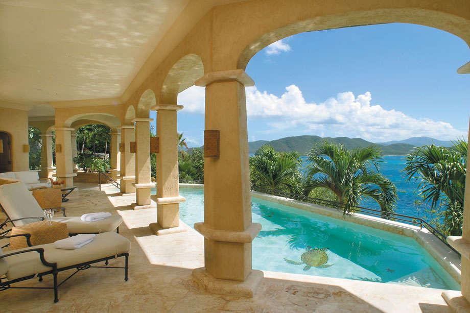 Luxury villa rentals caribbean - Usvi - St john - Peter bay - Seacove Villa - Image 1/14