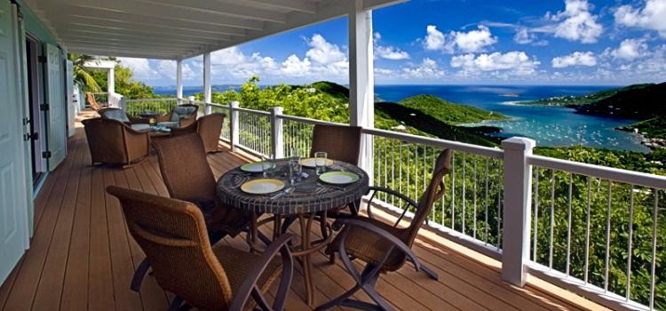 Luxury villa rentals caribbean - Usvi - St john - Majestic mile - Great Turtle Villa - Image 1/9
