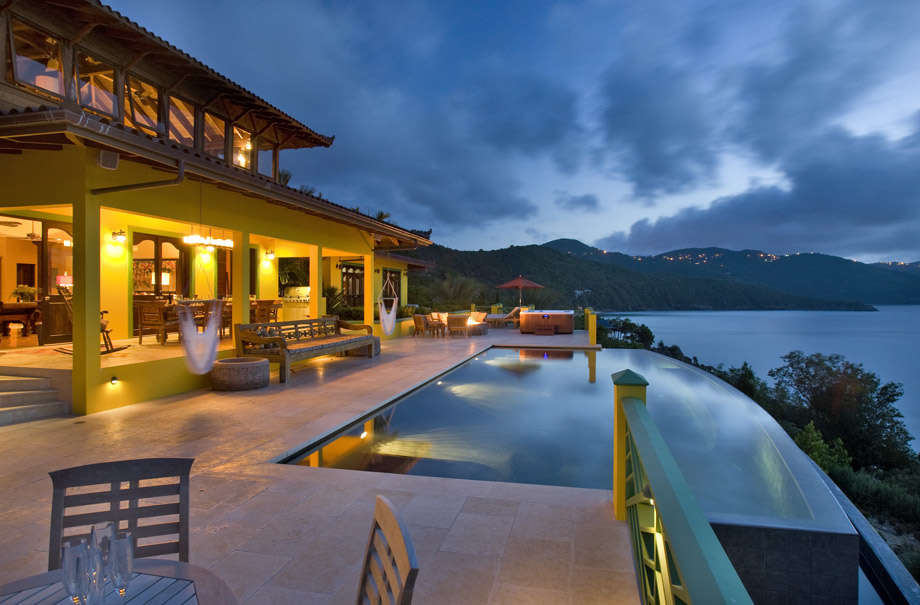 Luxury villa rentals caribbean - British virgin islands - Tortola - Little bay - Golden Pavilion - Image 1/20