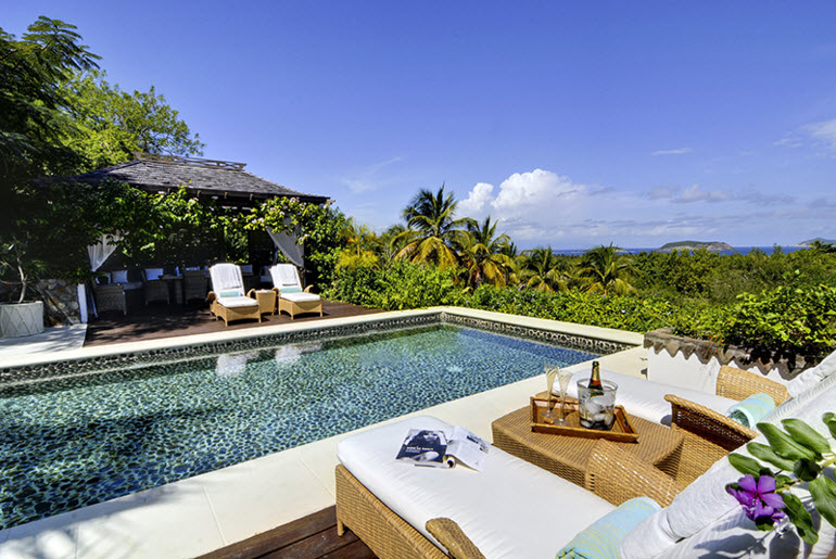 Luxury villa rentals caribbean - St vincent and the grenadines - St vincent - Mustique - Tetto Rosso - Image 1/9