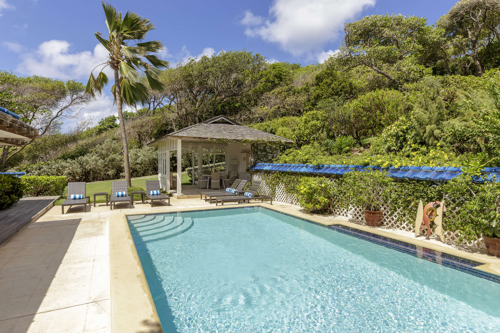 Luxury villa rentals caribbean - St vincent and the grenadines - St vincent - Mustique - Sapphire - Image 1/14