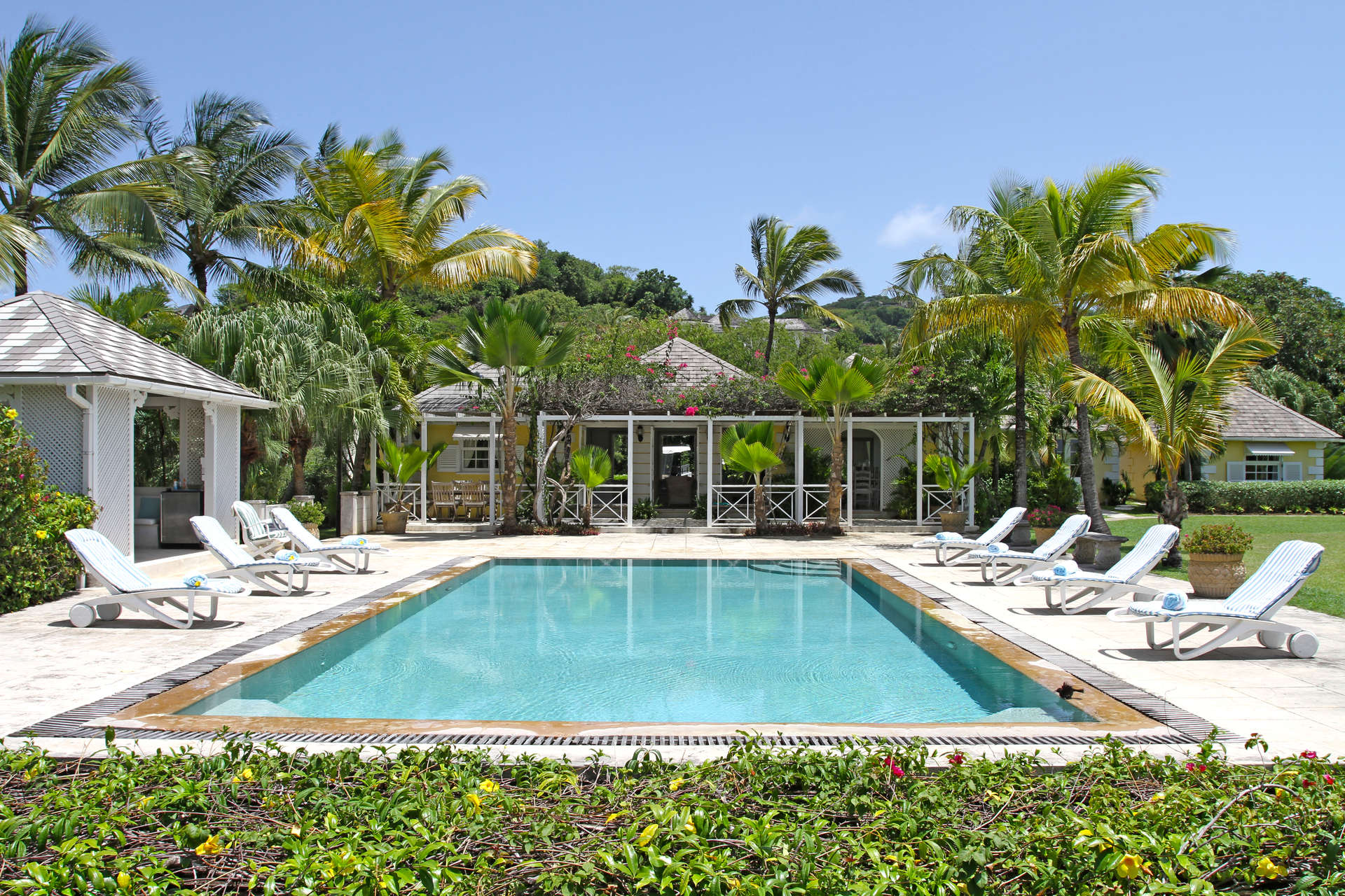 Luxury villa rentals caribbean - St vincent and the grenadines - St vincent - Mustique - Gingerbread - Image 1/12