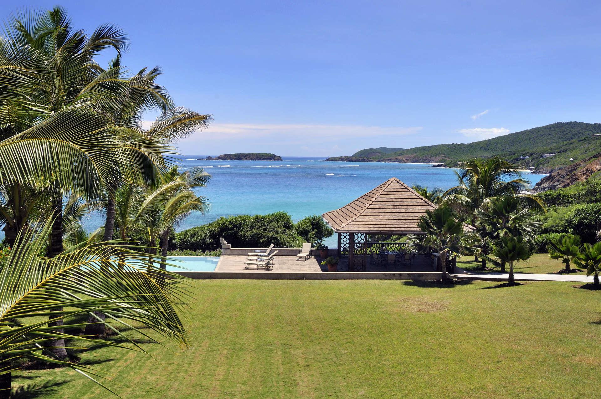 Luxury villa rentals caribbean - St vincent and the grenadines - St vincent - Mustique - Sleeping Dragon - Image 1/13