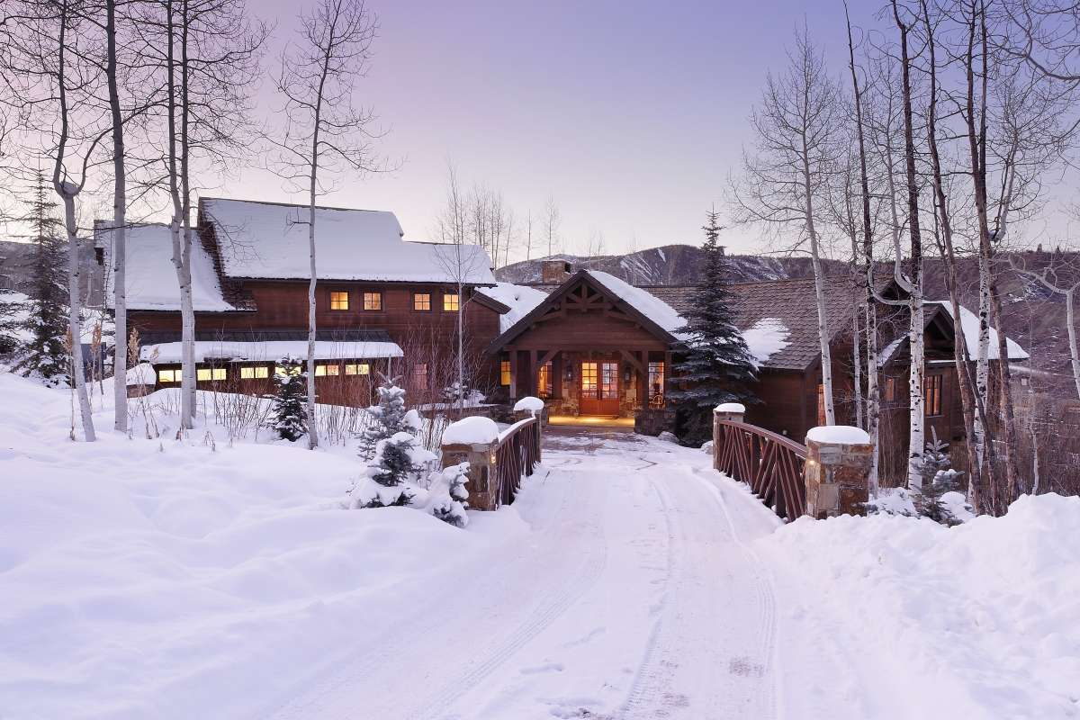 Luxury vacation rentals usa - Colorado - Snowmass village - Aspen Leaf Chalet - Image 1/13